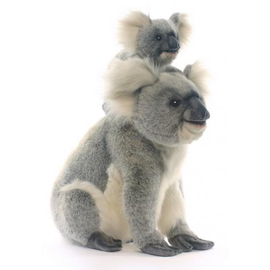 f0e4a3767fce14 Grijze pluche koala mama 60 cm sloffen/ pantoffel winkel