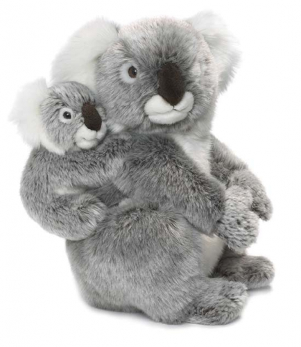 dafabc74e093ed Koala knuffel met baby op zijn rug sloffen/ pantoffel winkel